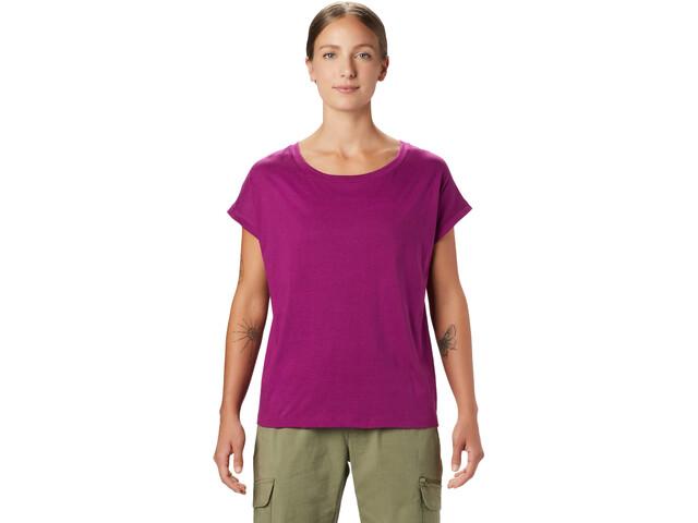 Mountain Hardwear Tomomi Kurzarm T-Shirt Damen berry glow